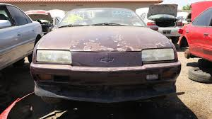 junkyard find 1996 chevrolet beretta z26
