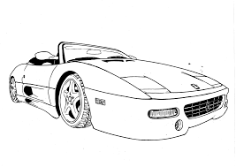 supercar drawing perspective drawing templates