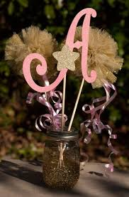 Centerpieces For Birthday by Best 10 Tulle Centerpiece Ideas On Pinterest Pom Pom
