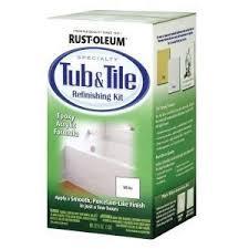 Diy Resurface Bathtub Bathtub Refinishing Kit Guide Diy Bathroom Update Curbly