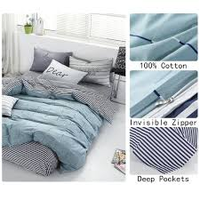 amazon com wonbye bed and pillow sheet bedding duvet cover set