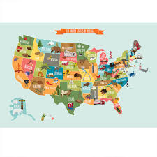 map of us states poster nebraska usamap of united states and territories products
