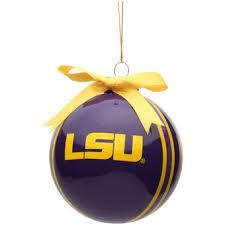lsu decor lsu tigers ornaments lsu wreath