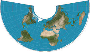 World Map Actual Size by Albers Projection Wikipedia