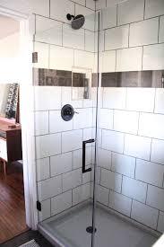 Industrial Shower Door 50 Glass Shower Door Inspiration And Ideas Brooklyn Berry Designs