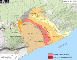 Hawaii On World Map Fresh Lava On Kilauea Hawaii Natural Hazards