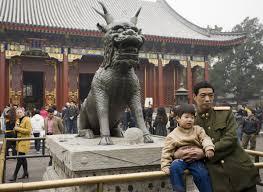 qilin statue fantastically wrong the kinda history of the