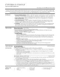 Resume Sample Of Mechanical Engineer Sample Resume For Industrial Engineer Free Resume Example And