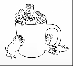 terrific crutches coloring pages with pug coloring pages