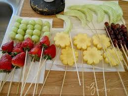 plastic skewers for fruit arrangements mothers day gift ideas edible centerpiece edible centerpieces