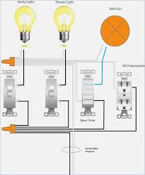 bathroom extractor fan wiring diagram bioart me