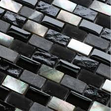 black glass backsplash kitchen grey mosaic black glass mosaic kitchen backsplash tile