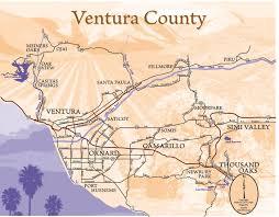 ventura county map ventura county and style magazine hip local