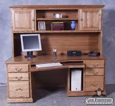Oak Computer Desk With Hutch Office Furniture Portland Oak Furniture Warehouseoak Furniture