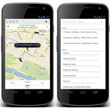 uber for android uber blackberry windows phone et android