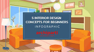 interior design for beginners 5 interior design concepts for beginners infographic