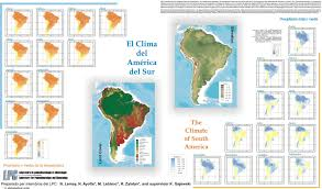 The Map Of South America by Maps Population Landscape And Climate Estimates Place V2 South