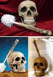 Skull Decorations For The Home From The Outhouse To The White House The Best Toilet Brushes