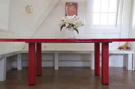 diy a red lacquer table for under 500 remodelista
