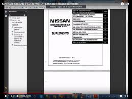 manual nissan sentra 2000 youtube