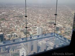 willis tower chicago skydeck chicago i walked out on the ledge would you