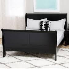 Black Full Size Bed Frame Best 25 Black Sleigh Beds Ideas On Pinterest Sleigh Bed Frame