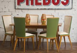 Retro Dining Room Furniture Vintage Chairs 1950 S Chairs 1950 Vintage Dining Table Antique