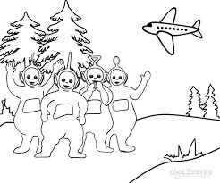 printable teletubbies coloring pages kids cool2bkids