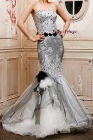 robe de mariã e grise et blanche robe de mariée grise et blanche boutique robe d ange wifeo