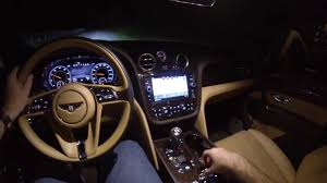 2017 bentley bentayga price 2017 bentley bentayga night drive pov test drive bentley