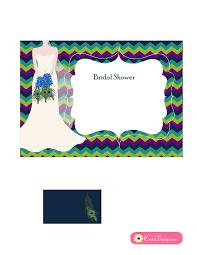 free printable invitation templates bridal shower free printable peacock themed bridal shower invitations templates