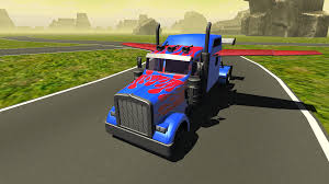 minecraft semi truck flying car transformer truck 2 apk download android simulation