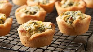 spinach artichoke mini bites recipe pillsbury