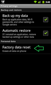how to reset an android how to do a factory reset on android cnet