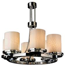 faux pillar candle chandelier lighting chandelier faux pillar candle large rustic with regard to