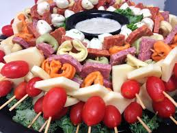 skewers finger foods buffet semi formal buffet holiday event