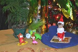 Alvin And The Chipmunks Christmas Ornament - elf on a shelf movie alvin and the chipmunks