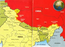 Map Of India And China by Wordcraft And Statecraft October 2012