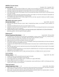 sle resume for business analyst role in sdlc phases system full resume of susan d morrison 928