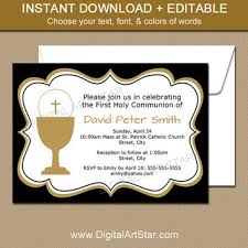 communion invitations for boys best communion invitations products on wanelo