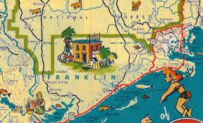 Florida Coast Map Lanark By The Sea The Florida Memory Blog