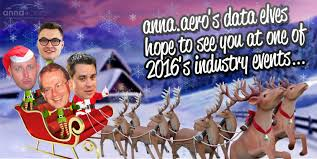 your christmas card of the week from the anna aero