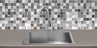 Gray Brown Glass Marble Backsplash Tile Backsplashcom - Brown tile backsplash