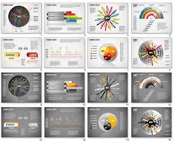 creative business presentation set for powerpoint presentazione