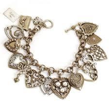 love heart bracelet images All my love heart charm locket bracelet valentines day gifts jpg