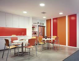 office interesting break room design ideas for small space with office interesting break room design ideas for small space with relaxing orange leather chair and