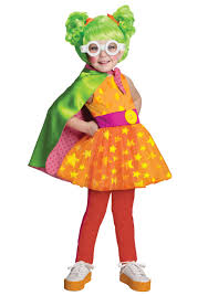 Amazon Com Halloween Costumes Girls Lalaloopsy Dyna Might Costume