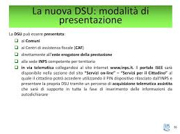 sede inps competente riforma isee ppt scaricare