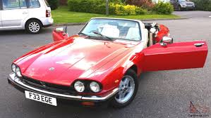 xjs convertible v12 twr signal red