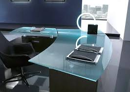 Glass Office Furniture Desk Frosted Glass Office Desk Charming Modern Glass Office Desk Modern
